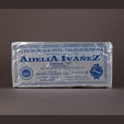 Turrón duro Adelia Iváñez